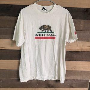 Nor-Cal men's Vintage Skateboarding Shirt size L